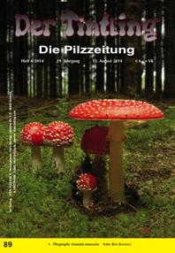 Titelblatt Tintling 89 mit dem Fliegenpilz Amanita muscaria