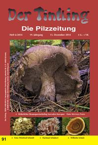 Umschlag Tintling 91 mit dem Nadelwald-Purpur-Röhrling Boletus splendidus ssp. moseri